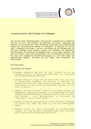 Internationaler Ethik-Kodex für Hebammen - Schweizerischer ...