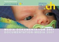 MEDIA-DOKUMENTATION 2007 DOCUMENTATION-MEDIA 2007