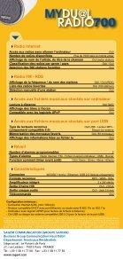 radio internet wifi radio fm - rds lecture de fichiers ... - Sagemcom - Page 2