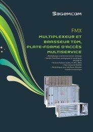 multiplexeur et brasseur tdm, plate-forme d'accès ... - Sagemcom