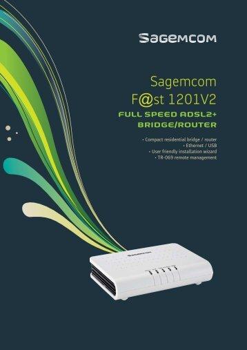 Sagemcom fast 4350 user guide