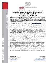 Communiqué au format PDF - Sagemcom