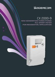 CX 2000-9 - Sagemcom