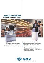 SAGEM DCN-SHDSL - Sagemcom