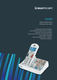 Data Sheet - Sagemcom Digital