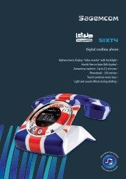 Digital cordless phone - Sagemcom Digital