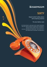Digital Corded Cordless phone with answering machine The retro ...