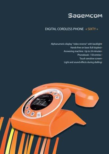 Download Data Sheet - Sagemcom Digital