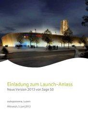 Einladung (PDF) - Sage Schweiz AG