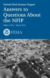 Answers to Questions About the NFIP - Town of Bristol