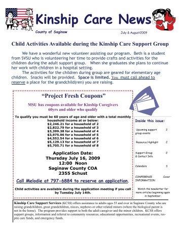 Kinship Care News - Saginaw County