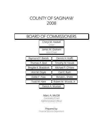 2008-2009 - Saginaw County