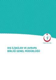 dış ilişkiler ve avrupa birliği genel müdürlüğü - Sağlık Bakanlığı