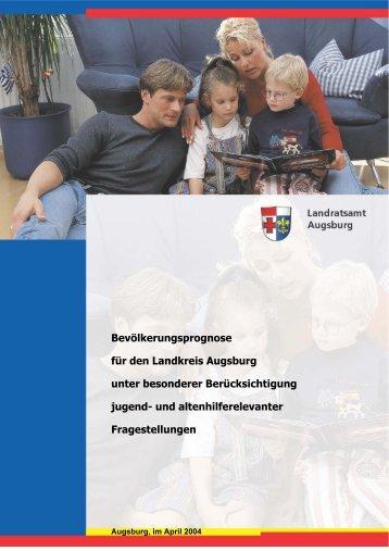 Landkreis Augsburg, Bevölkerungsprognose - Sags, Institut für ...