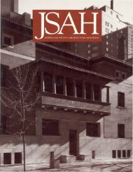 JSAH, Vol.54 #3, 1995 - Society of Architectural Historians