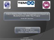 SAn-Tez Projesi- Ocak 2011 Sunumu(*pdf.2.23