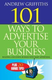 ADVERTISING 101 Ways to Advertise Your Business Building a ...