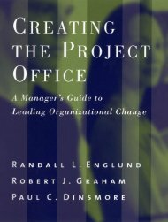 Creating the Project Office: A Manager's Guide to ... - Saigontre