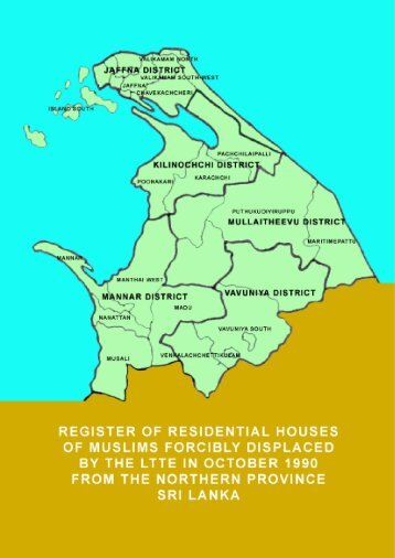 Register of Houses of Forcibly Displaced Muslims in ... - Sailan Muslim