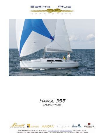 Hanse 355 - SAILING PLUS Yachts