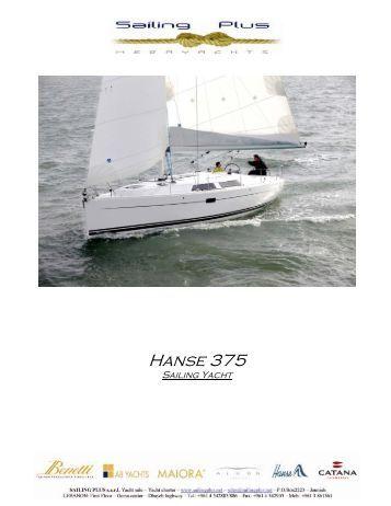 Hanse 375 - SAILING PLUS Yachts