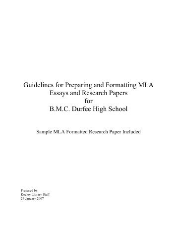 sample mla formatted research paper pdf phsgradproject guidelines for preparing and formatting mla essays and research