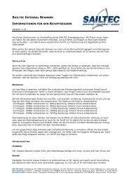 sailtec integral spanner informationen für den ... - SAILTEC GmbH