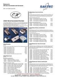 22MM SCHOTSCHIENEN SYSTEME - SAILTEC GmbH