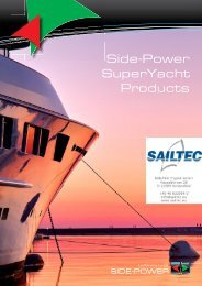 Side-Power SuperYacht Products