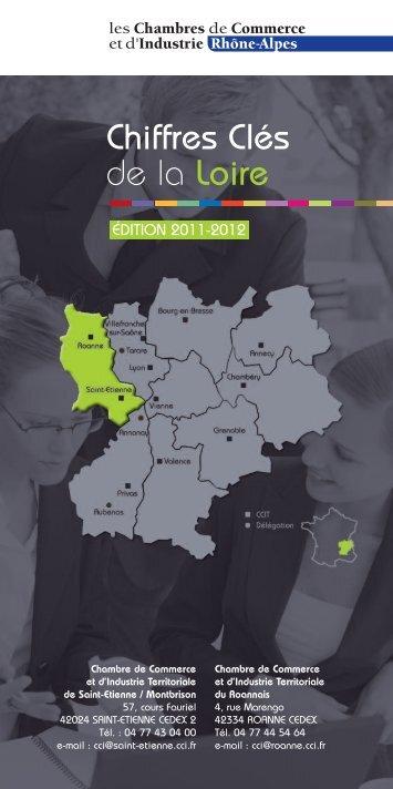 Chiffres Clés de la Loire - (CCI) de Saint-Etienne et Montbrison