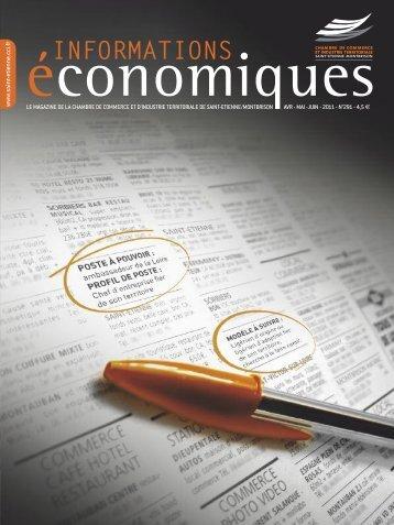 N°291 - Avril Mai Juin 2011 - (CCI) de Saint-Etienne et Montbrison