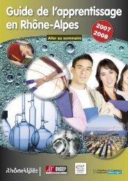 Guide de l'apprentissage en Rhône-Alpes - (CCI) de Saint-Etienne ...