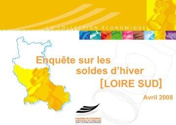 des soldes d'hiver insatisfaisants - (CCI) de Saint-Etienne et ...