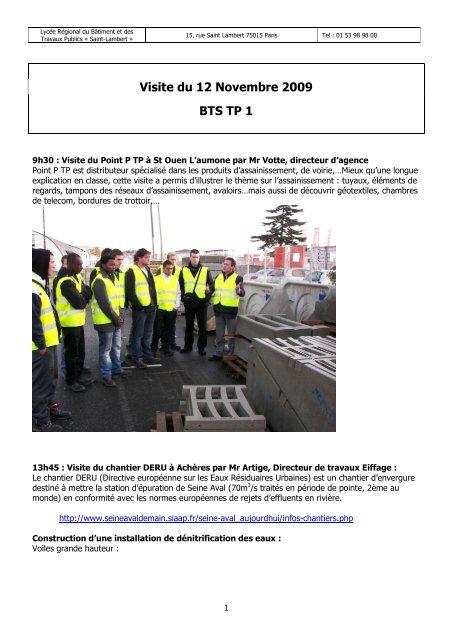 Cr Du Voyage 12 Nov 09 Saint Lambert
