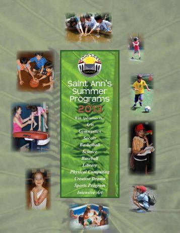Summer Programs - Saint Ann's School