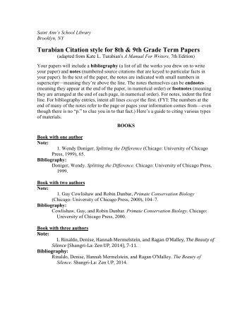 PDF version - Saint Ann's School