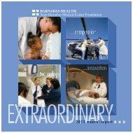 2011 Saint Barnabas Medical Center Foundation Annual Report - pdf