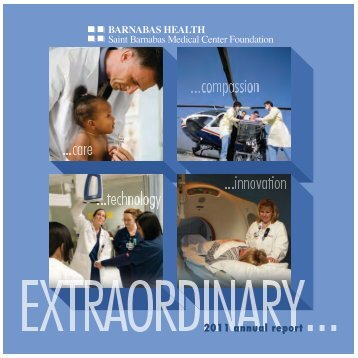 2011 Saint Barnabas Medical Center Foundation Annual Report - pdf