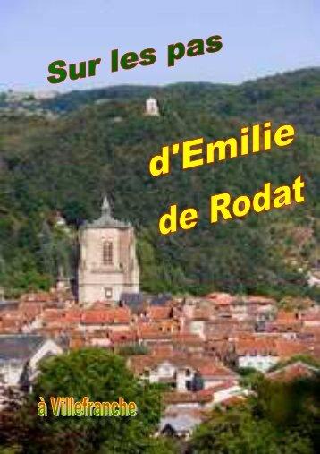 Sur les pas d'Emilie de Rodat à Villefranche - Congrégation de la ...