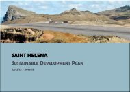 Sustainable Development Plan 2012/13 - St Helena