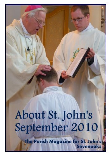 September 2010 edition (PDF 4.17MB) - The Church of St John The ...