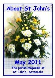 May 2011 edition (PDF 3.64MB) - The Church of St John The Baptist ...