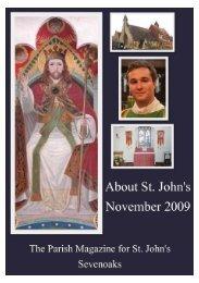 November 2009 edition (PDF 3.13MB) - The Church of St John The ...