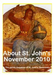 November 2010 edition (PDF 4.13MB) - The Church of St John The ...