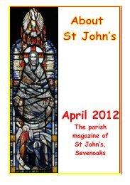 April 2012 edition (PDF 3.37MB) - The Church of St John The Baptist ...