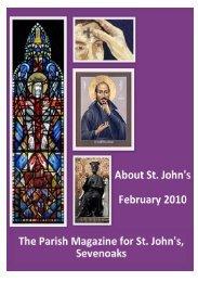 February 2010 - The Church of St John The Baptist, Sevenoaks