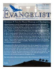 December 23, 2012 - Saint John The Evangelist