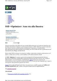 SSD +Optimizer: Asus sta alla finestra - Apacer
