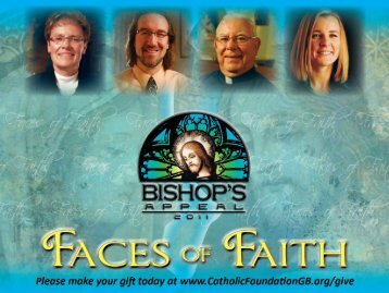 Bishop's Appeal 2009 Sharing our Faith - St. Joseph Parish