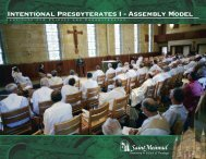 Claiming Our Common Sense of Purpose as Diocesan Priests [pdf]